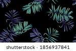 botanical seamless pattern ...   Shutterstock .eps vector #1856937841