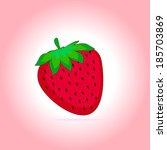 illustration of ripe red... | Shutterstock . vector #185703869