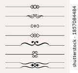 set of hand drawn  design...   Shutterstock .eps vector #1857084484