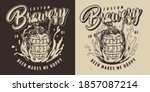 brewing vintage monochrome... | Shutterstock .eps vector #1857087214
