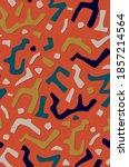 abstract african ethnic random... | Shutterstock . vector #1857214564