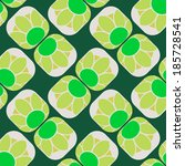 floral seamless pattern    Shutterstock .eps vector #185728541