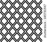 geometric seamless pattern  | Shutterstock .eps vector #185731547