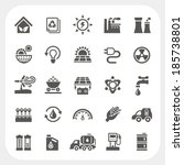 energy and power icons set | Shutterstock .eps vector #185738801