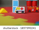 Mini Ambulance Toy Vehicle For...