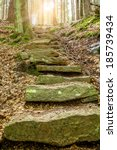 Stone Staircase Leading Up A...