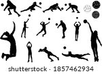 Complete Silhouette Set Of...
