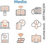 media set. included chemistry ... | Shutterstock .eps vector #1857482104