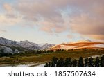 Altai Landscape Mountains And...