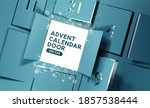 christmas advent calendar door... | Shutterstock .eps vector #1857538444