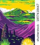 haleakala national park and...   Shutterstock .eps vector #1857618667