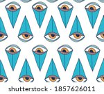 vector seamless pattern with... | Shutterstock .eps vector #1857626011
