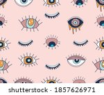 vector seamless pattern with... | Shutterstock .eps vector #1857626971