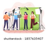 production agency illustration  ... | Shutterstock .eps vector #1857635407