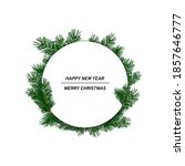 white round greeting card... | Shutterstock .eps vector #1857646777
