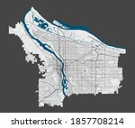 Portland Map. Detailed Map Of...