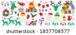 christmas label vector logo for ... | Shutterstock .eps vector #1857708577