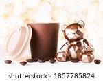 Gift Card With Chocolate Bear...