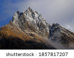 Langtang Lirung Is A 7 227 M...