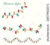 christmas lights. christmas... | Shutterstock .eps vector #1857902071