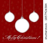 christmas abstract background... | Shutterstock .eps vector #1857926584