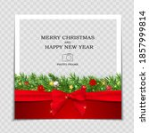 merry christmas and happy new... | Shutterstock .eps vector #1857999814