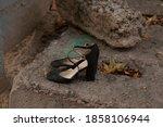 Black Women's Sandals Shoes...