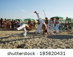 lido adriano  ravenna  italy    ... | Shutterstock . vector #185820431