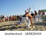 lido adriano  ravenna  italy    ... | Shutterstock . vector #185820434