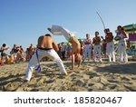 lido adriano  ravenna  italy    ... | Shutterstock . vector #185820467