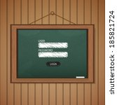 realistic blackboard web login...