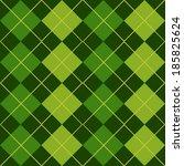 Argyle Green Seamless Pattern...