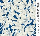 Line Rhododendron Cosmopolitan...