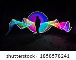 one person standing alone...   Shutterstock . vector #1858578241