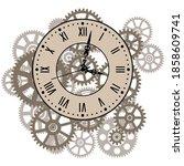 Clockwork Gear Mechanism....