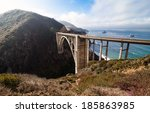 Bixby Bridge On Highway One At...
