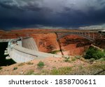 Glen Canyon Dam And Glen Canyo...