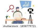 Man Islam Scholar Teach Love...