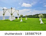 Beautiful Wedding Set Up In...