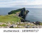 Scottish Landscape With Rocky...