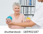 Cropped Doctor With Senior...