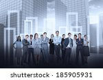 digital composite of business... | Shutterstock . vector #185905931