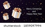 merry christmas and happy new...   Shutterstock .eps vector #1859097994
