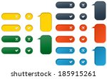 the set of download  accept and ...   Shutterstock .eps vector #185915261