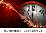 clock hands showing 2021 year... | Shutterstock .eps vector #1859159521