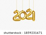 2021 new year card. christmas... | Shutterstock .eps vector #1859231671