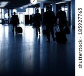 airport terminal  | Shutterstock . vector #185927765