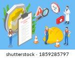 3d isometric flat vector... | Shutterstock .eps vector #1859285797