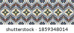 ikat border. geometric folk... | Shutterstock .eps vector #1859348014