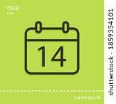 calendar line icon  outline...